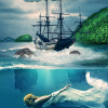 Adobe Photoshop CS6 Tutorial: Create Amazing Underwater Scene From Lorelei Legend – Photo Manipulation