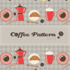 Free Photoshop Coffee Pattern