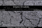 Cracks Photoshop Brushes For Destroyed Road