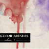Realistic Artistic Watercolor Brushes For Photoshop