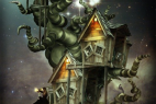 Adobe Photoshop CS6 Tutorial: Create Tree House From Fairy Tales