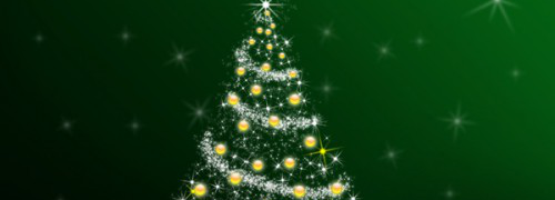 Adobe Photoshop Christmas Tutorial Day # 2 : Amazing Illustration Of The Christmas Tree