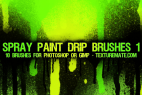 Let it drip: Spray Paint Drip Brushes