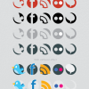 More Icons: Nice Set Of Social Icons For Your Future Design