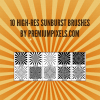 10 Sunburst Brushes