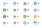 Vector Social Media Icons For Web Designers