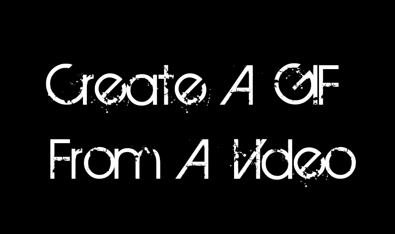 Adobe Photoshop CS6 Tutorial: Create A GIF From A Video