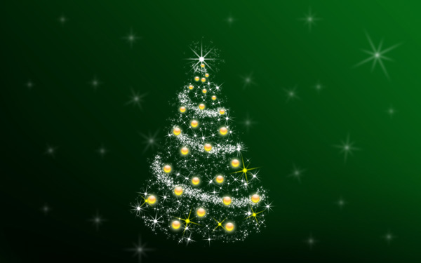 Christmas Tree Illustration.Adobe Photoshop Christmas Tutorial Day 2 Amazing